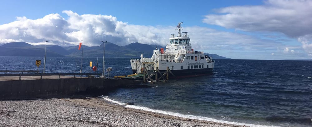 Ferry from Kintyre to Arran