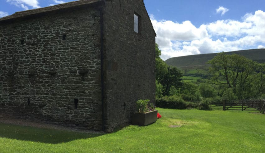 Downham Camping Barn ex YHA near Pendle Hill in the Trough of Bowland ANOB, Lancashire