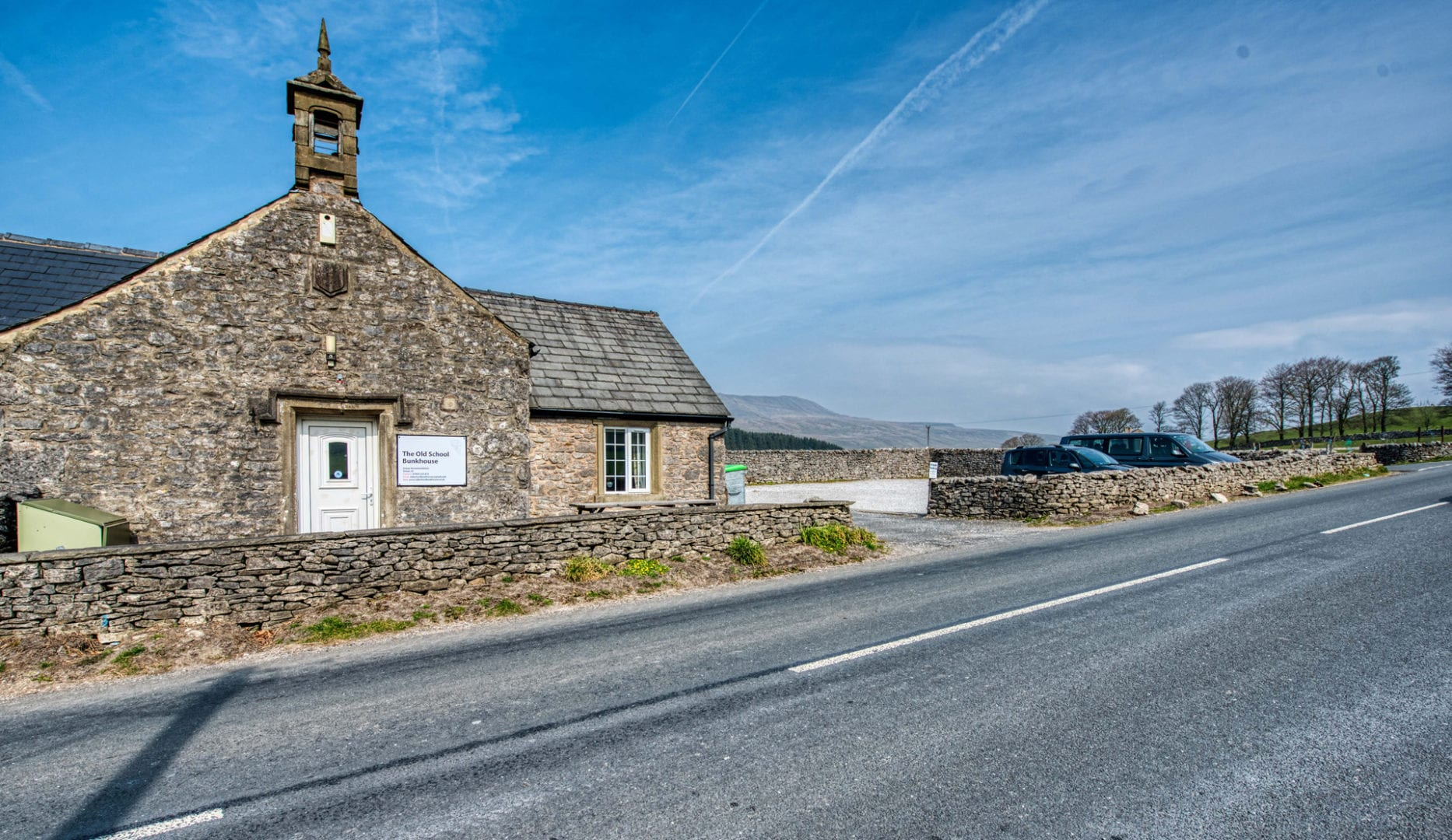 Old School Bunkhouse, Chapel le Dale on the Yorkshire Three Peaks and Dales High Way routes