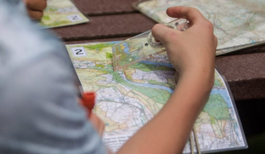 Map reading is an essential skill for D of E expeditions