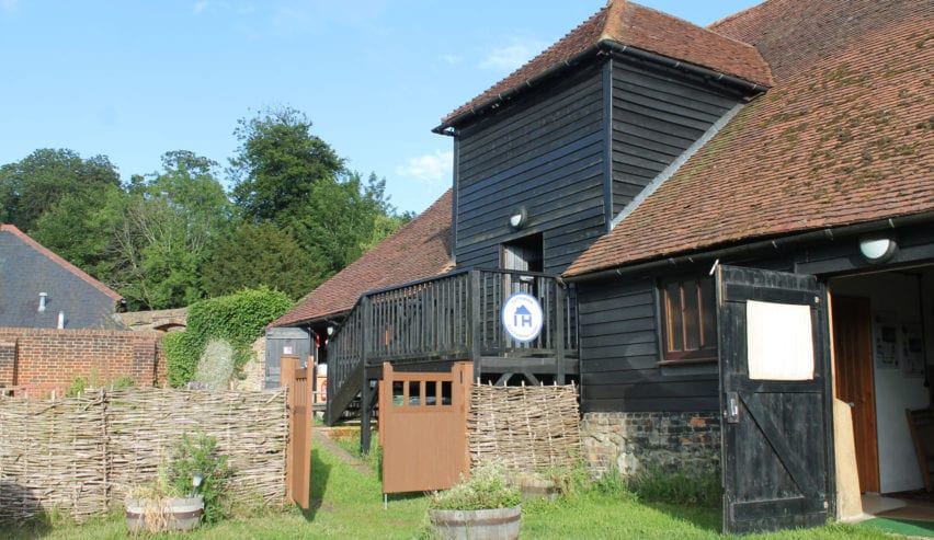 puttenham eco camping barn