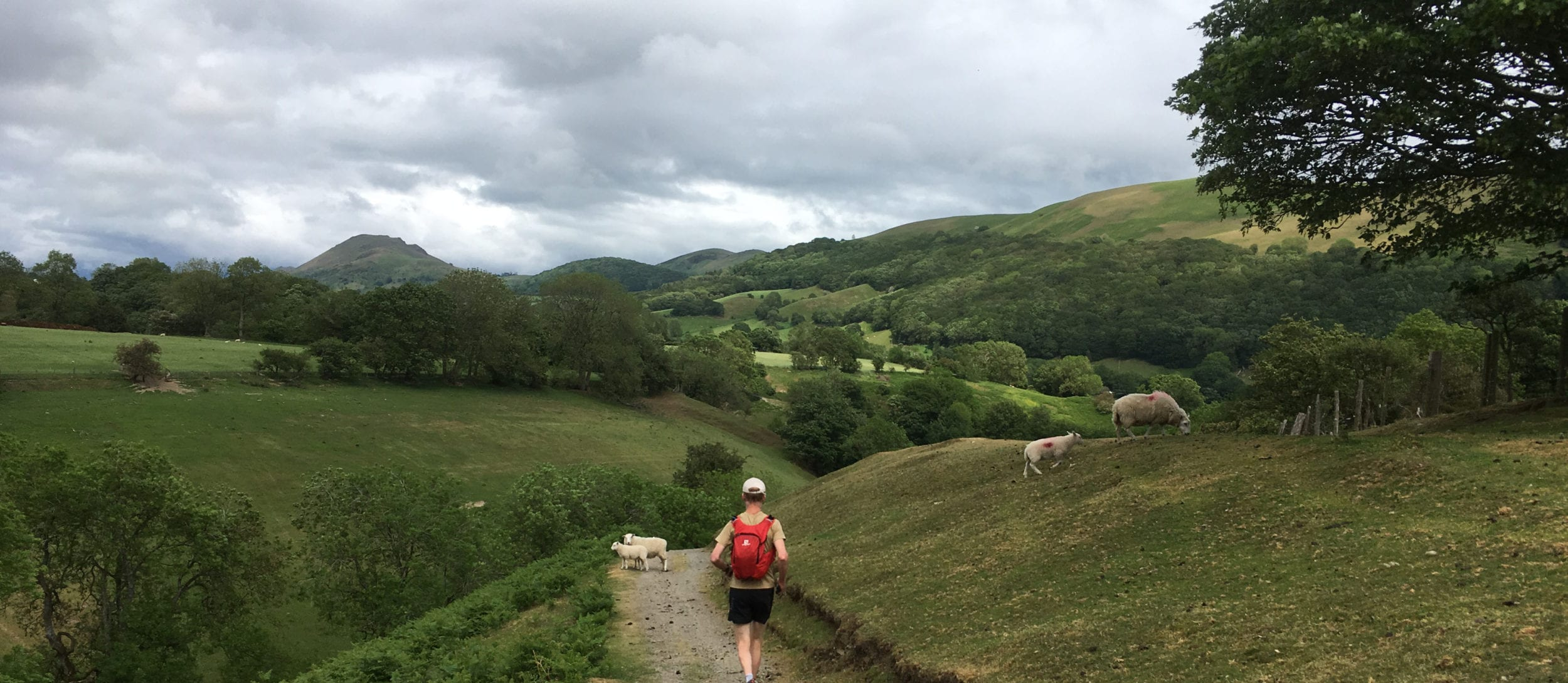 Running Long Mynd from All Stretton Bunkhouse