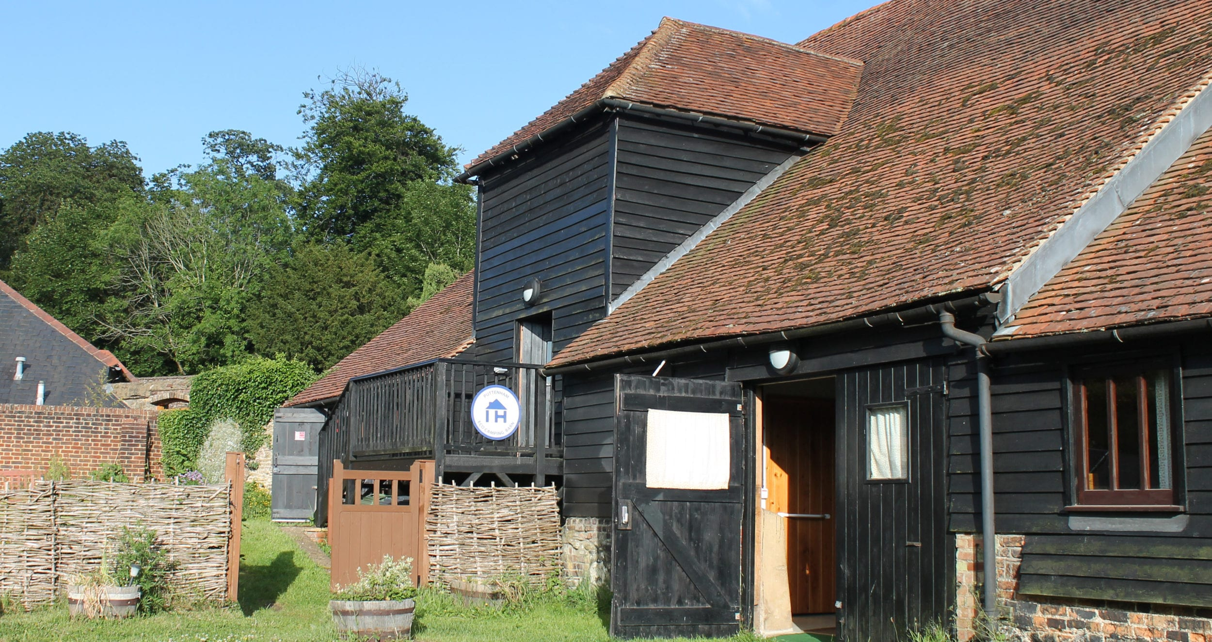 Puttenham Camping Barn on the North Downs Way passed by many DofE walkers every summer