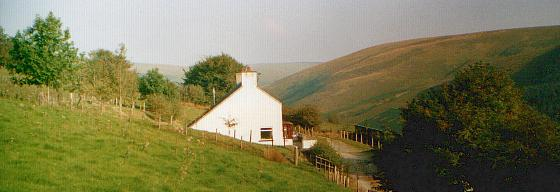ty'n cornel hostel in theElenydd Wilderness