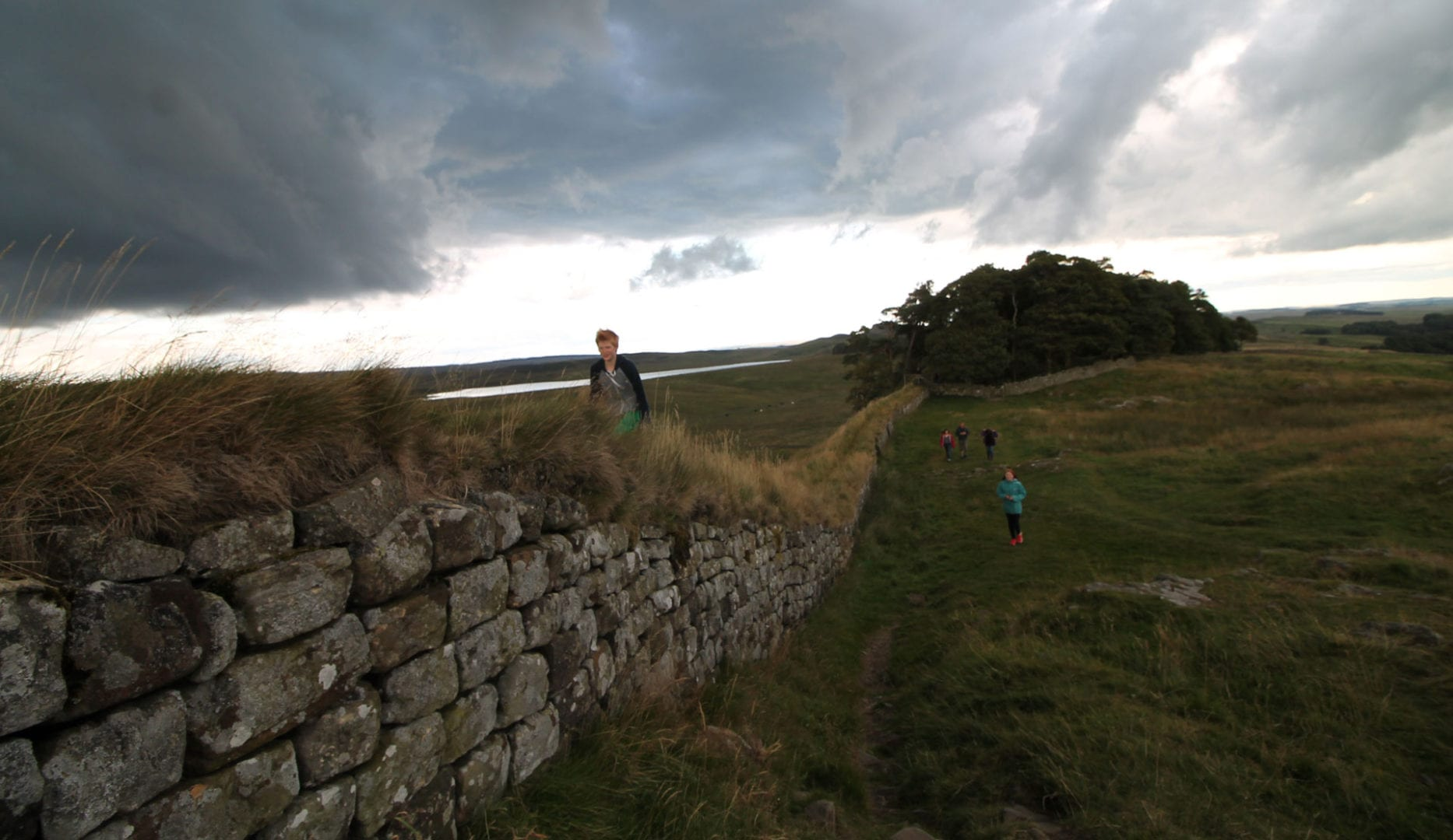Walking Hadrian's Wall from Gibbs Hill Farm Hostel