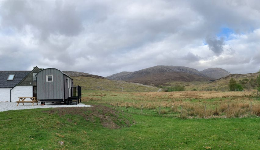Shepherds Hut in Assynt