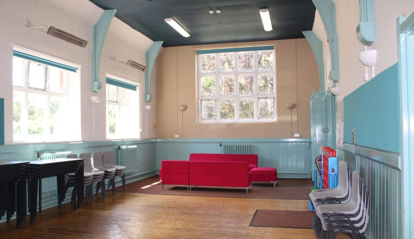 Main Hall at the Sitting Room at The Privett Centre