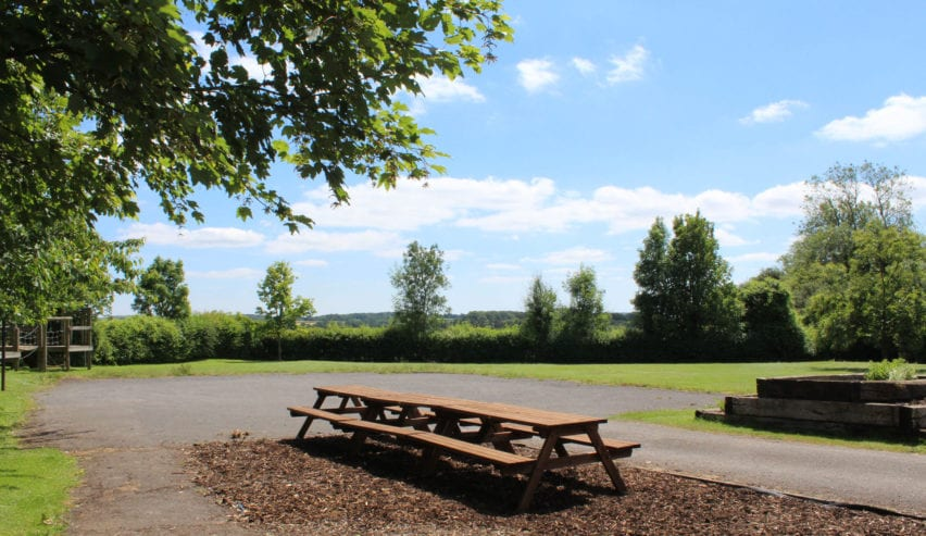 Picnic Area at The Privett Centre