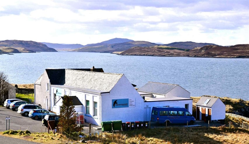 Ravenspoint Hostel on the Isle of Lewis