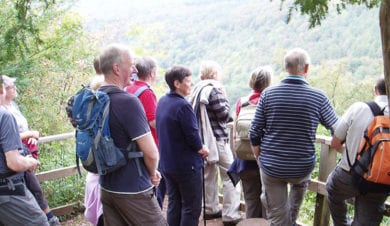 Ross on Wye Walking Festival. Stay at Yes Old Ferrie Inn
