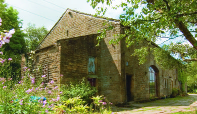 Trawden Camping Barn budget accommodation fro the South Pennines walk and ride festival