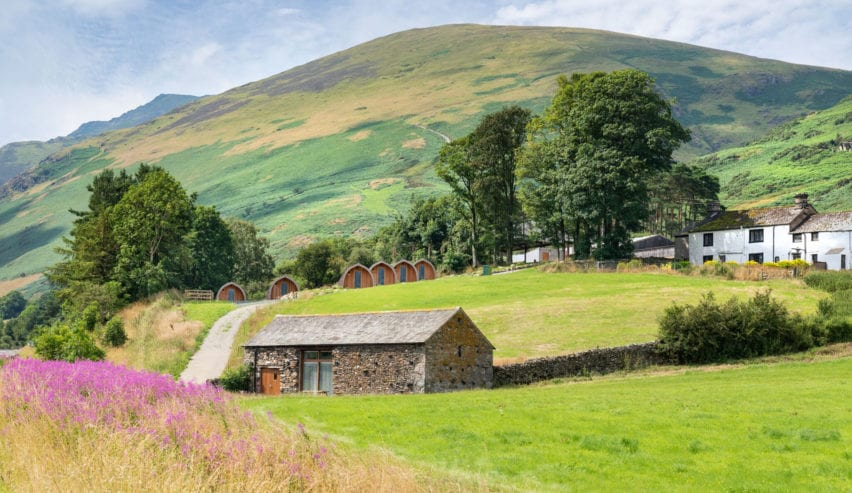 Loweside Farm Camping Barn & Pods, Blencathra, Lake District