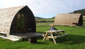 Glamping at Knockaloe Beg Farm