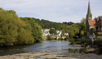 Llangollen a start point for corwen walking festivals 1st sept walk