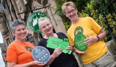 Jessie Macs Hostel wins Green Tourism award