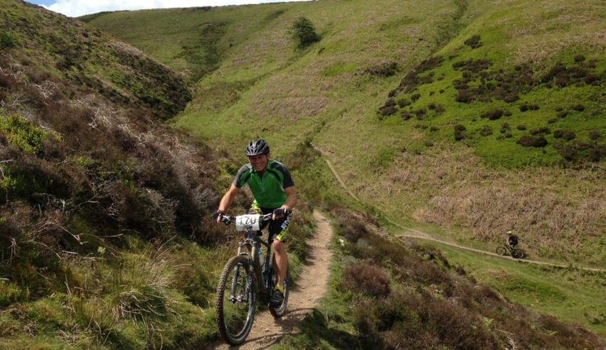 mountain biking at All Stretton Bunkhouse