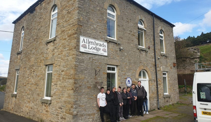 school residential at allenheads lodge in the independent hostels network