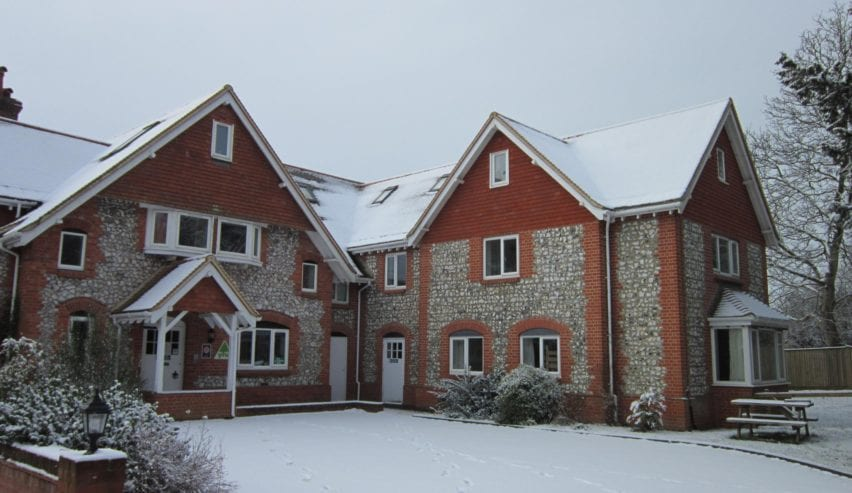 Christmas at Cholderton Youth Hostel