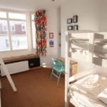 dorm room at Seadragon Backpackers in Brighton