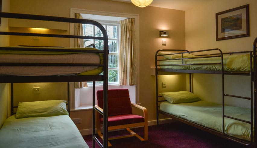 bunks at thorney how hostel