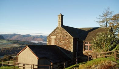 Lonscale hostel at Blencathra Field Studies Centre