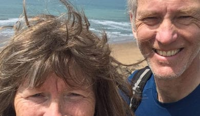 Rob and Sandy Fullerton travel writers for Independent Hostels