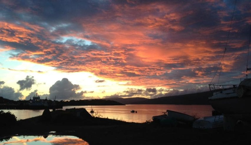 New Year at Craignure Bunkhouse