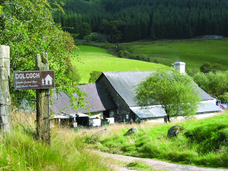 Dolgoch Hostel Cambrian Mountains