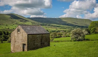 edale camping barn
