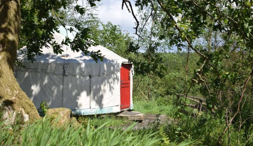 Family yurt marthrown of mabie