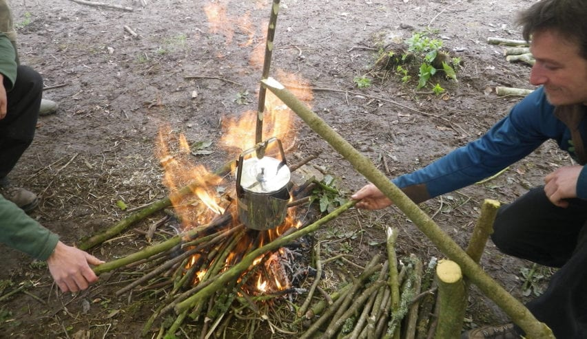 bushcraft at the stackpole centre