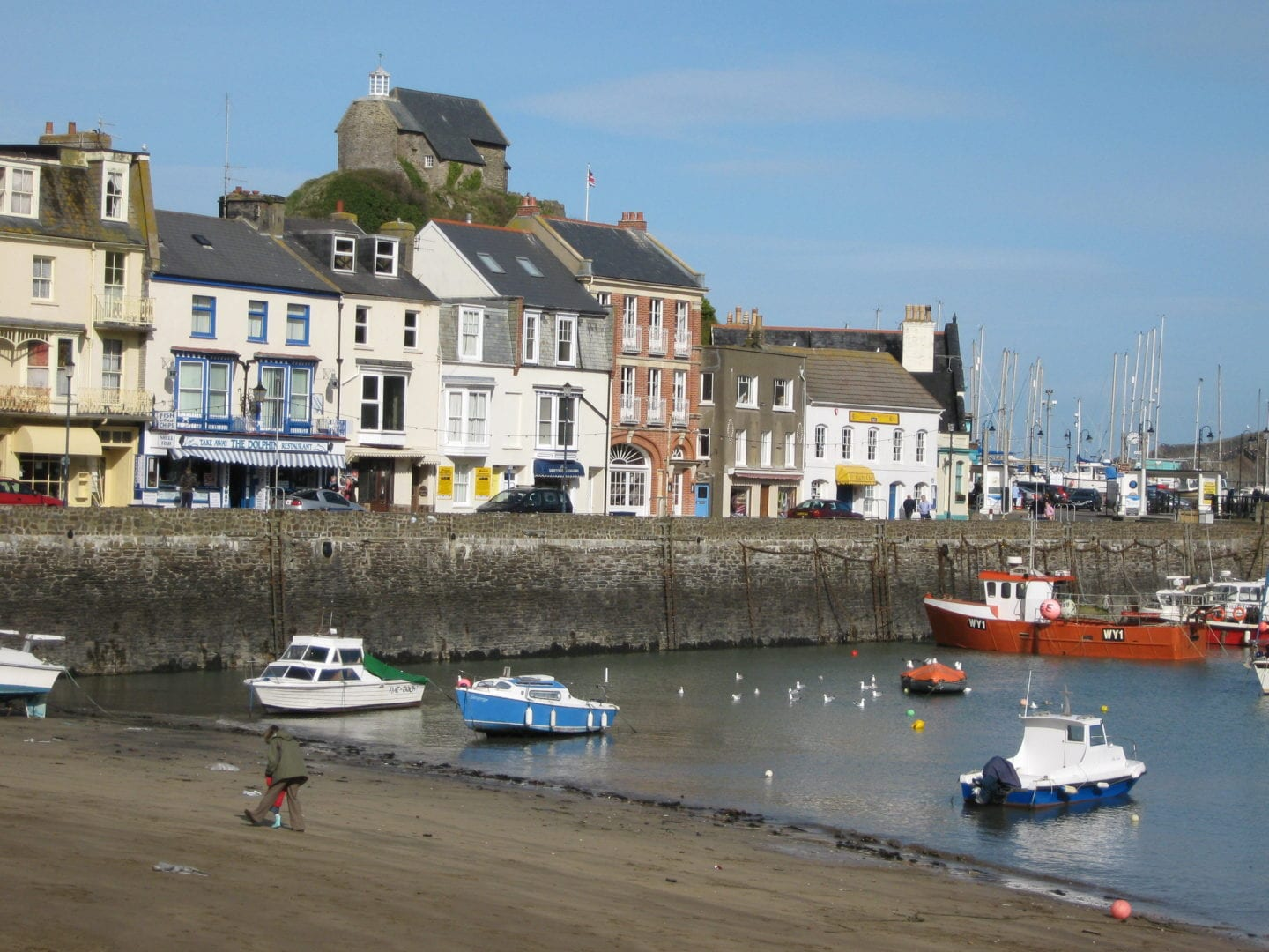 October half term at Illfracombe