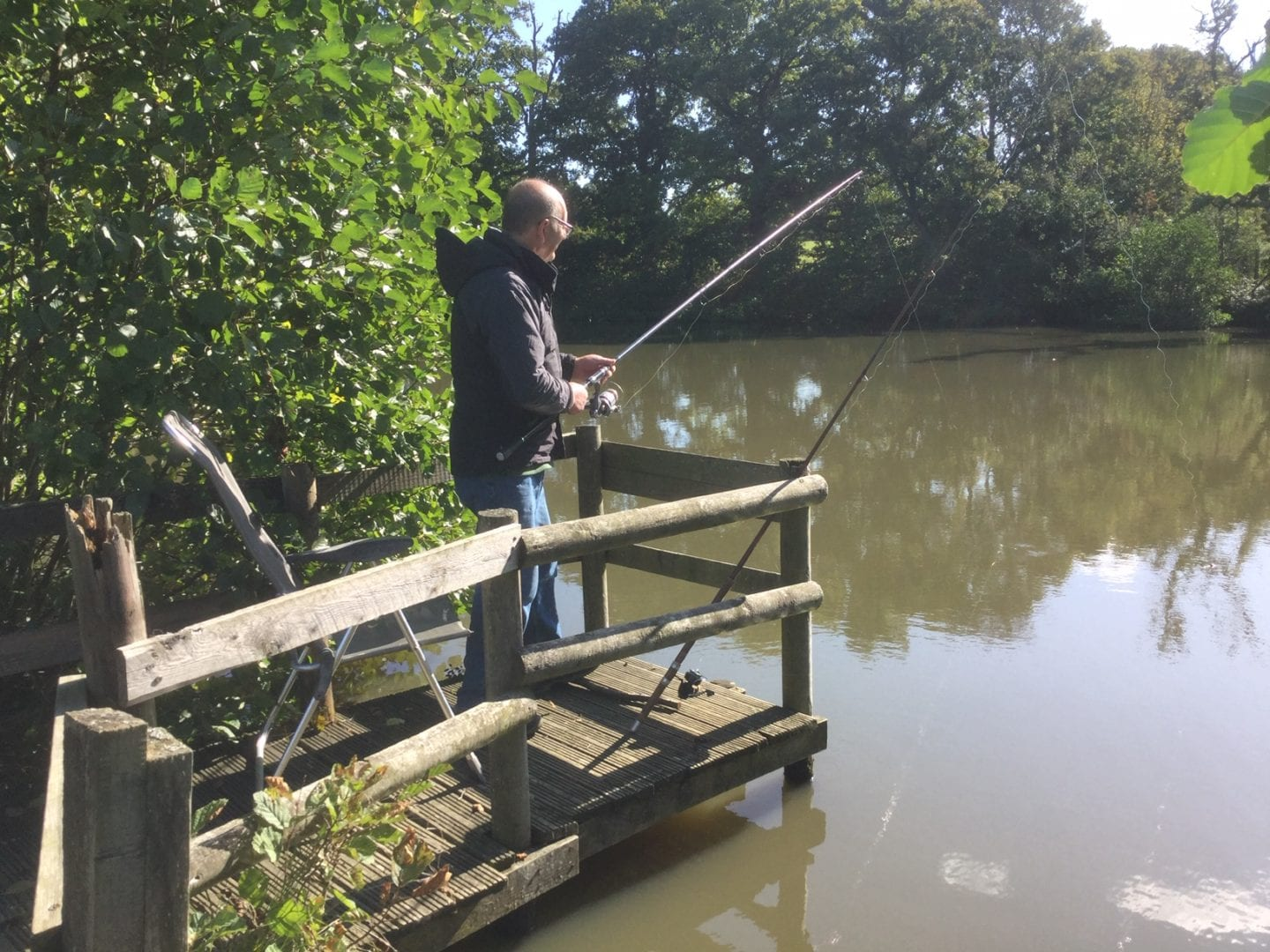 Fishing holidays at Gaveston Hall in Sussex