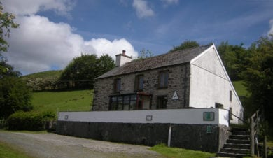 Tyncornel hostel Elenydd Wilderness Hostels Trust