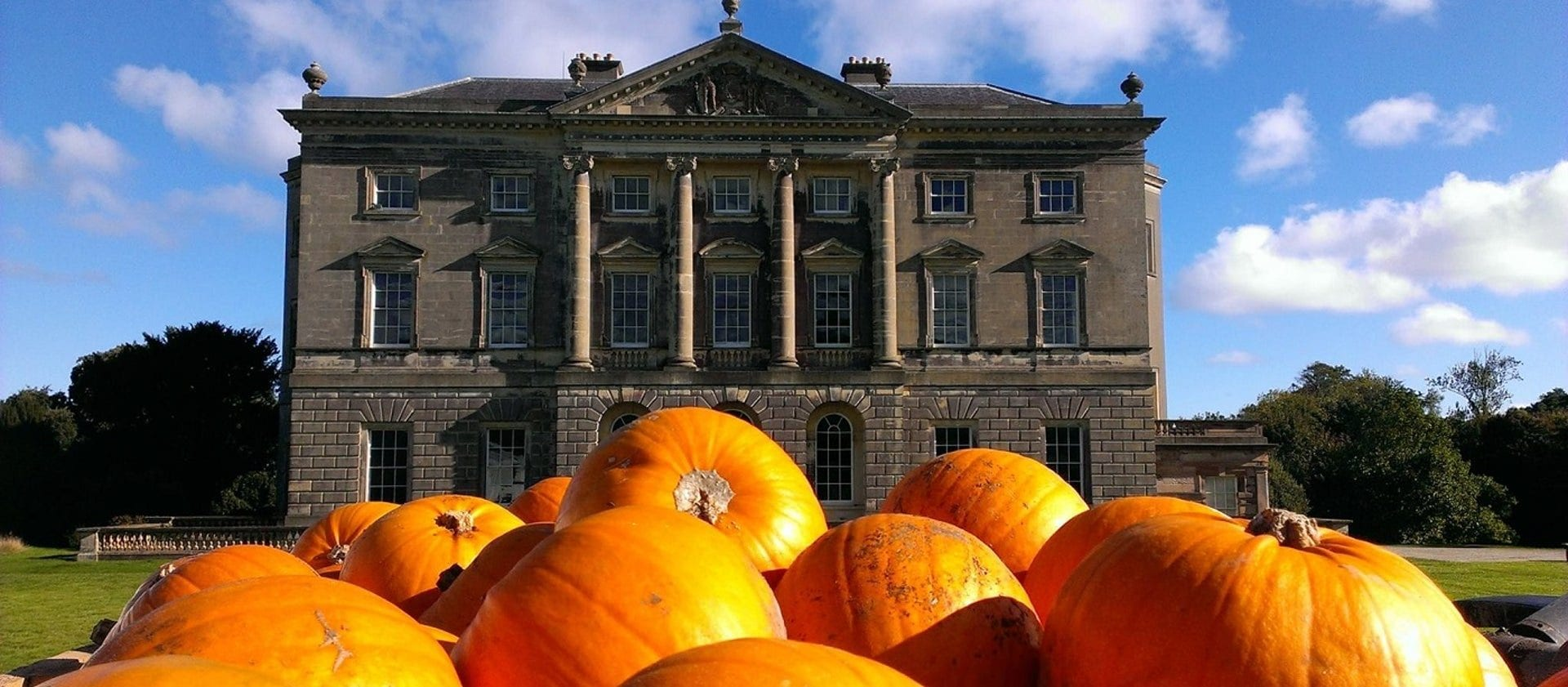 pumpkin festival at castle ward