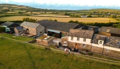 Hardingdowns Bunkhouse for autumn holidays on the gower