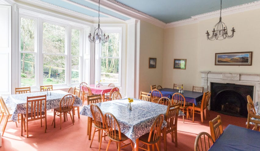 derwentwater dining room ideal for Christmas lunch