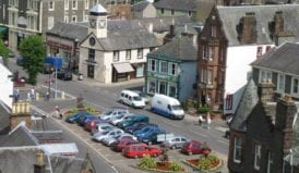 Moffat an ideal town for celebrating New Year