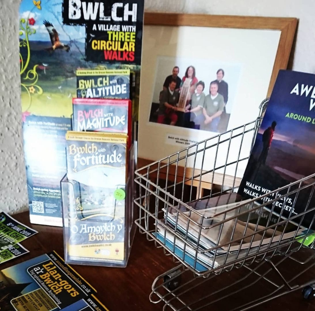 guides and maps at the star bunkhouse