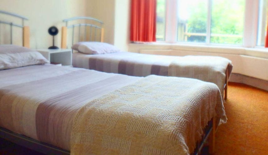 beds at woodland centre Betws-y-Coed