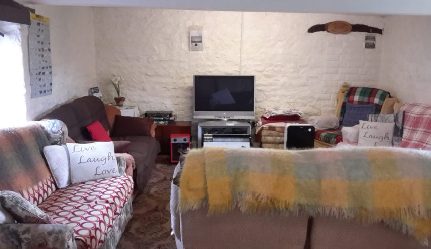 lounge at brompton on swale bunkhouse