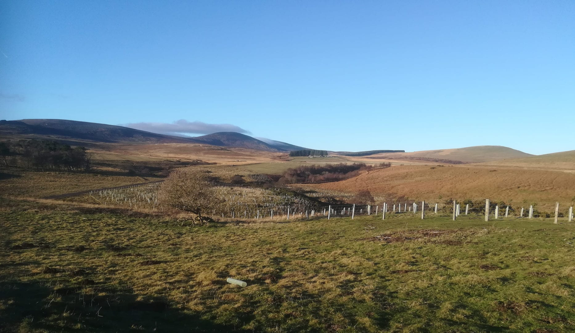 Rolling hills of the Pennines