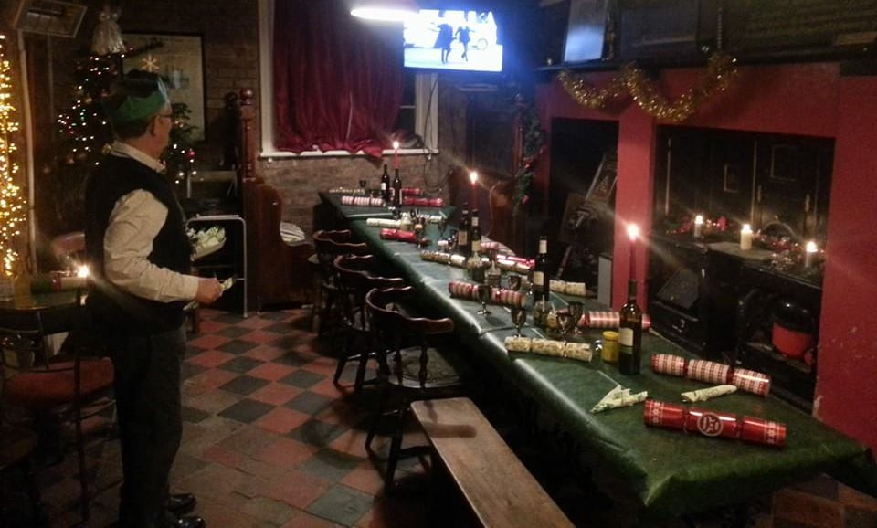 Christmas at the embassie hostel