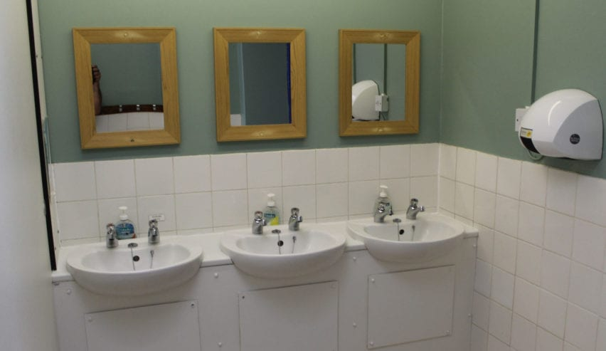 washrooms at st Michaels centre