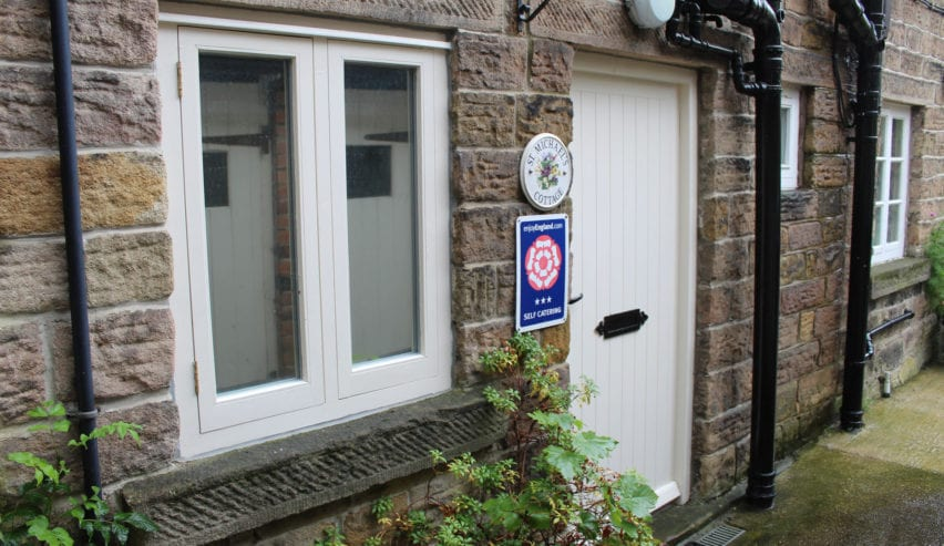 holiday cottage at St Micheal's Centre