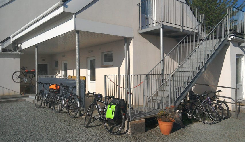 cycles at Argyll Backpackers self catering on the shores of Loch Fyne