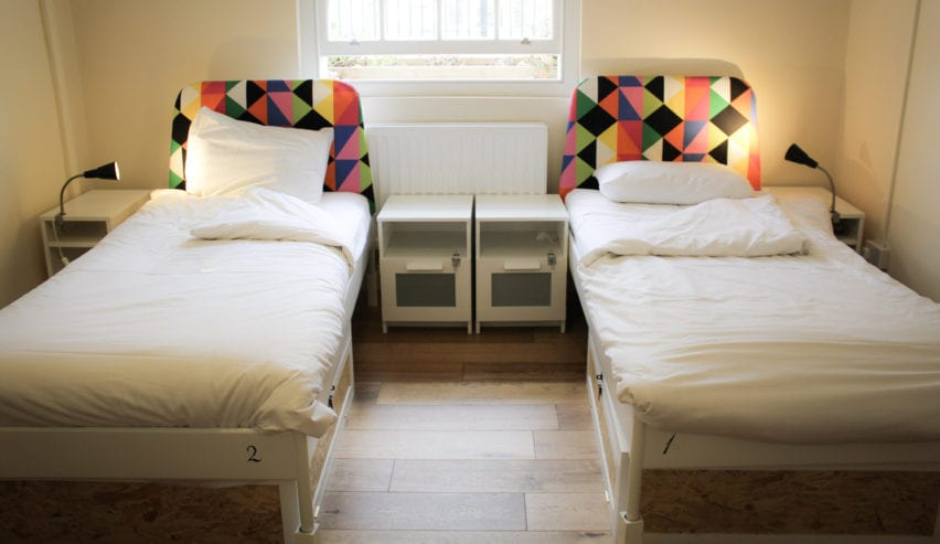 twin room at Park Villa Boutique Hostel
