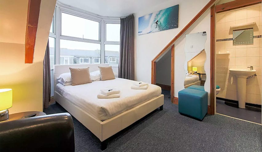 reef lodges self catering in Newquay
