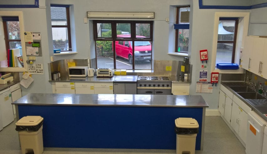 kitchen at the st Michaels centre