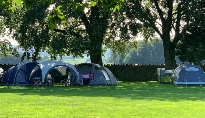 camping at Dalesbridge